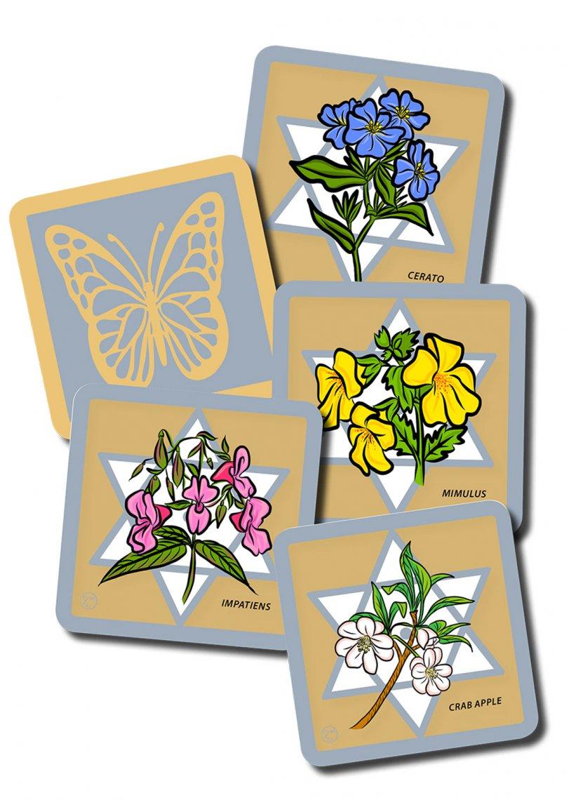 carte dei fiori di Bach