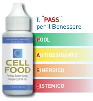 Cellfood  - Fornisce un'efficace Ossigenazione Cellulare