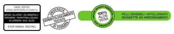Certificazione Aloe Vera