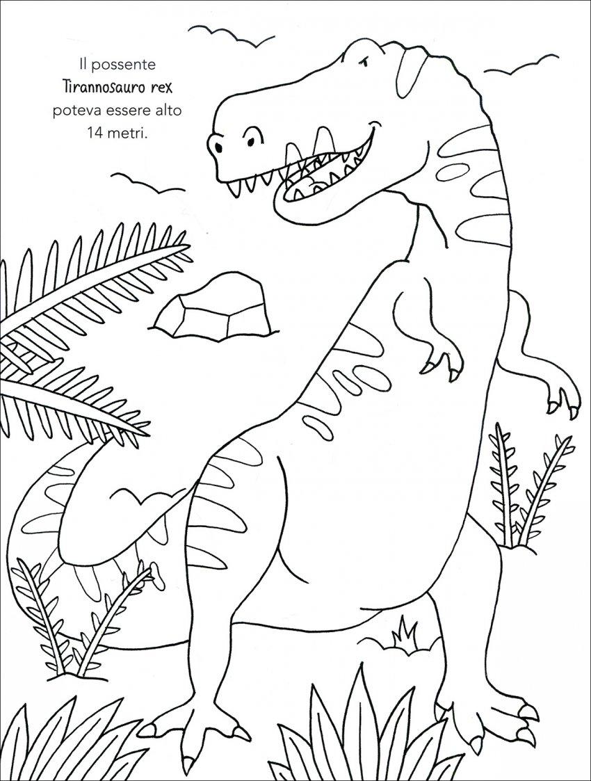 Dinosauri da colorare macro c 39 arte libro - Toddler libro da colorare ...