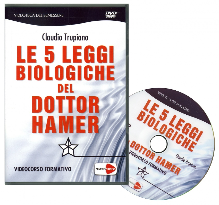 Le Cinque Leggi Biologiche del Dott. Hamer - Videocorso in DVD