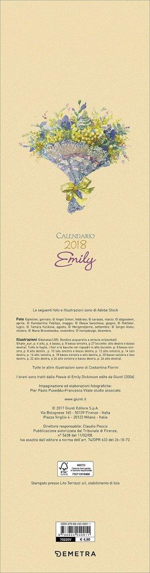 Calendario 2017 Emily - Formato Grande