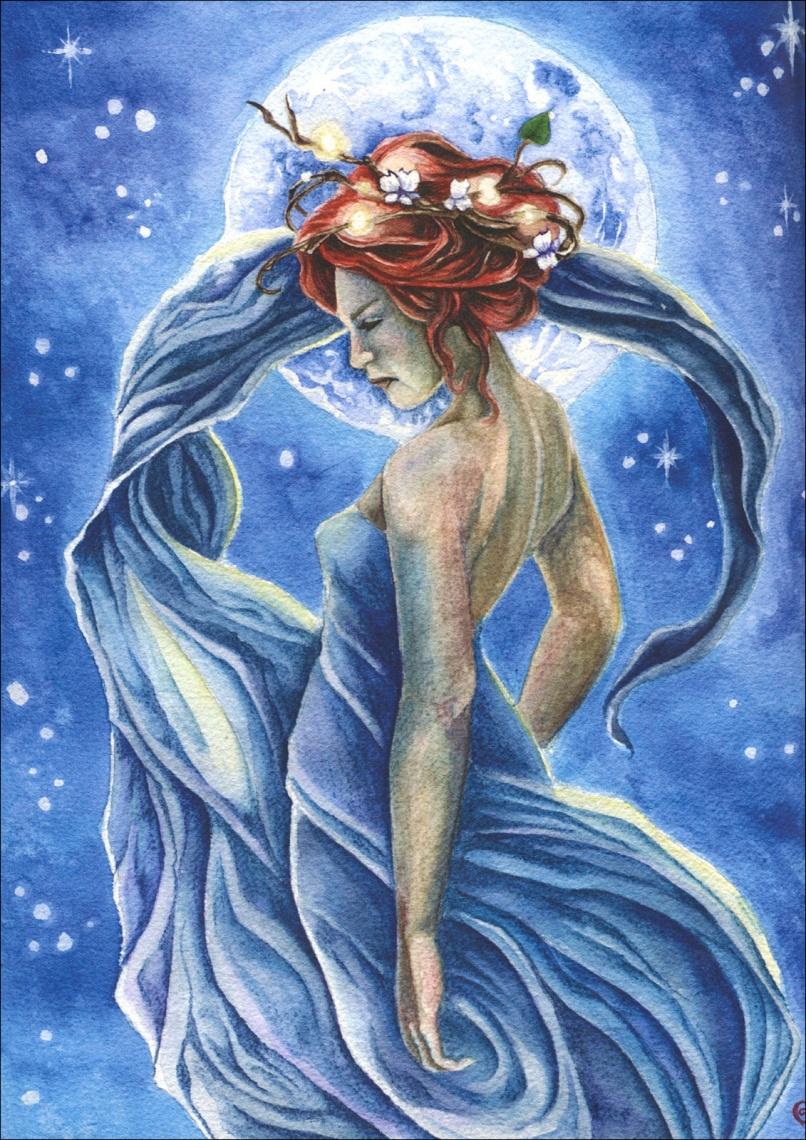 Fata blu