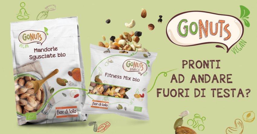 Go Nuts - Mandorle Sgusciate Bio