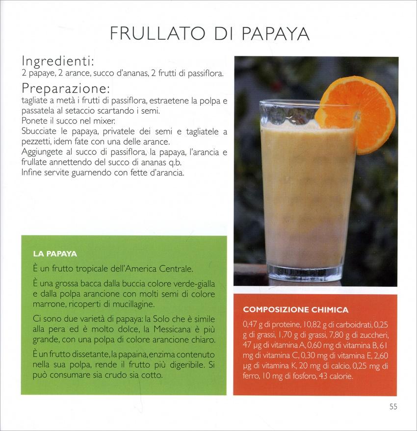 Frullato di papaja