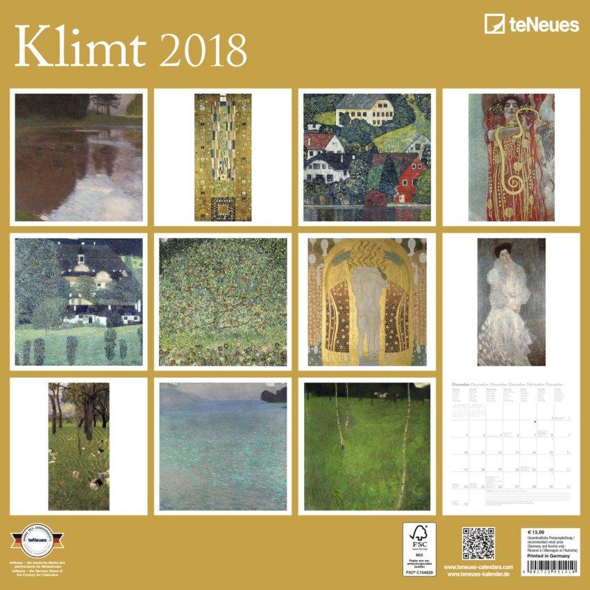 Calendario Klimt 2018
