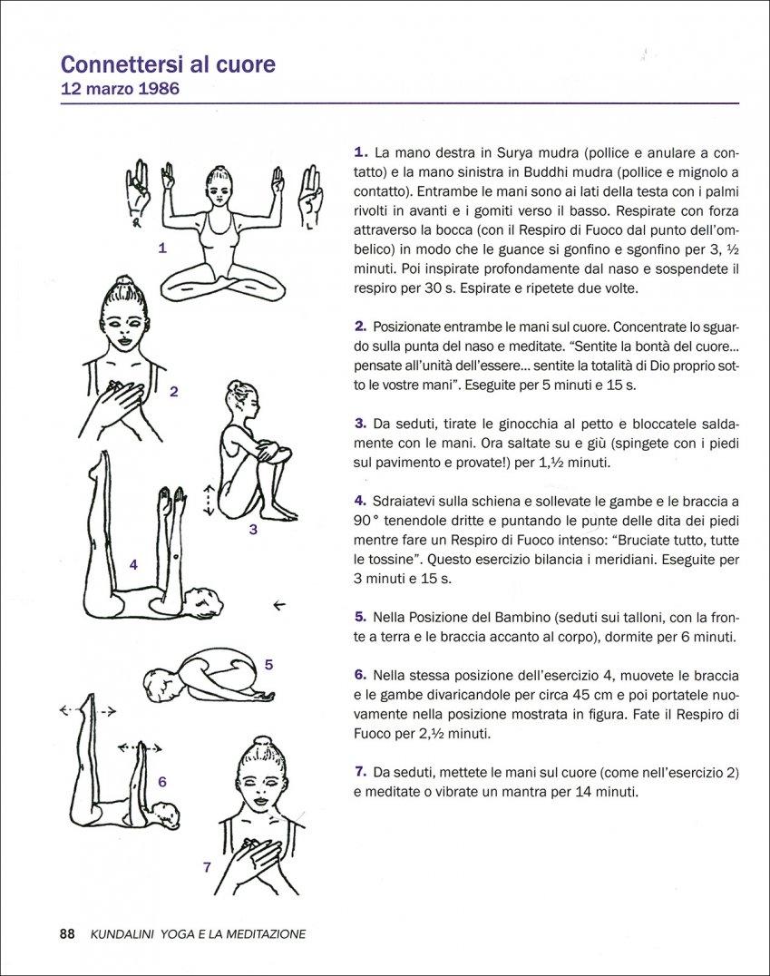 Kundalini Yoga e la Meditazione Pag. 88