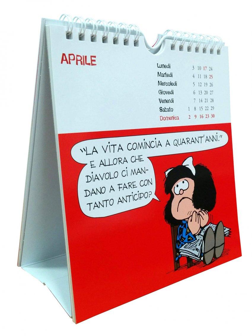 Mafalda - Calendario della Cartoline 2017