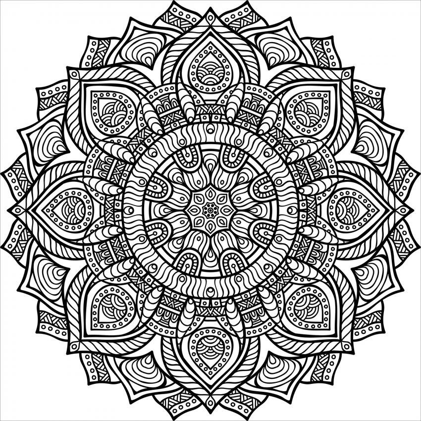 La magia dei mandala libro di macro c 39 arte for Immagini cattivissimo me da colorare