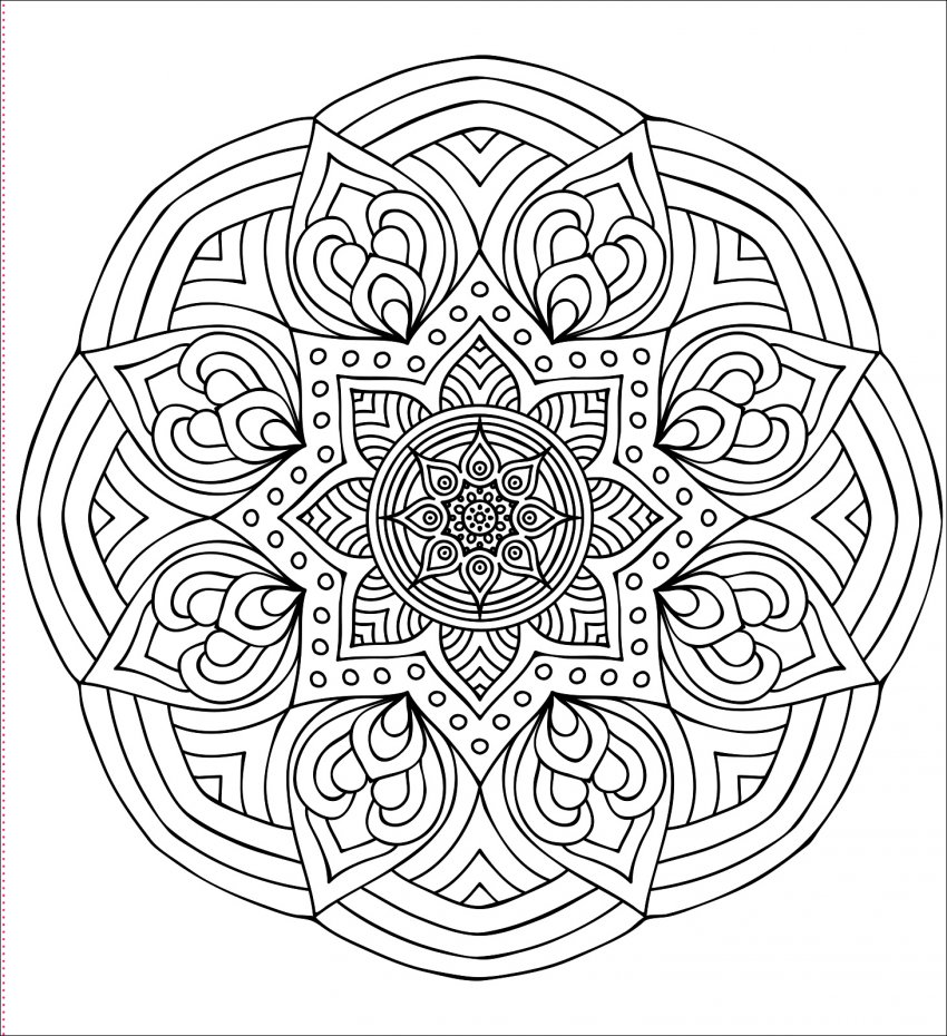 mandala-colorare-immagine