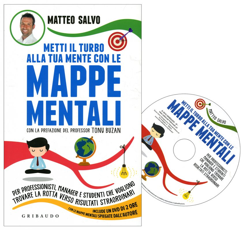 Metti il Turbo alla Tua Mente con le Mappe Mentali - Con DVD Incluso