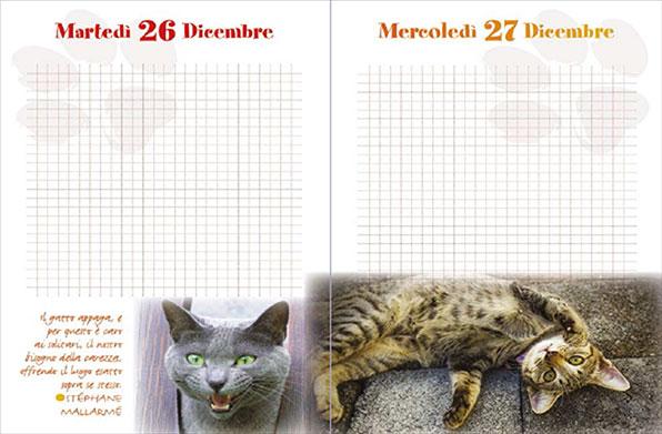 Minù - Agenda del Gatto 2018 - Pagina interna