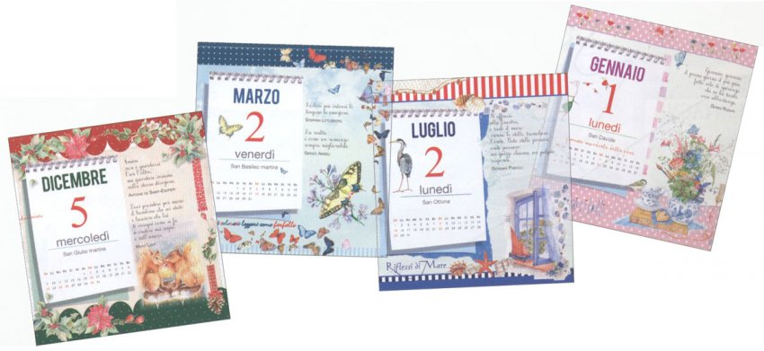 Calendario 2018 - Parole Belle per 365 Giorni
