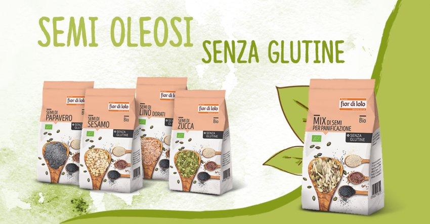 Semi di Lino Scuri Bio Senza Glutine
