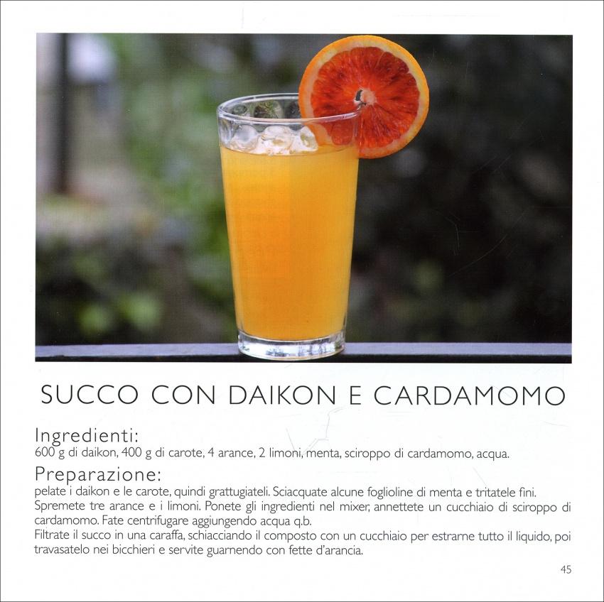 Succo di Daikon e Cardamomo