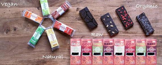 PranaCiok - Cioccolato Crudo ai Gels