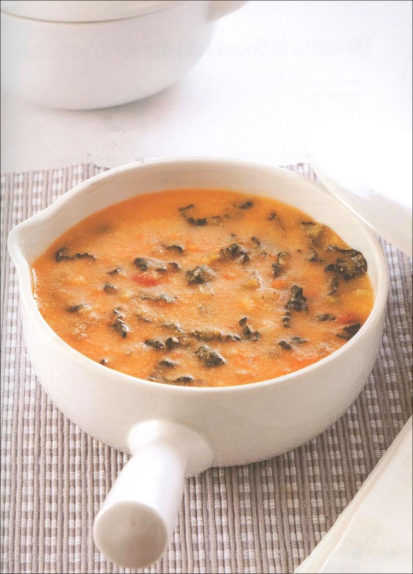 Piatto Vegetariano zuppa