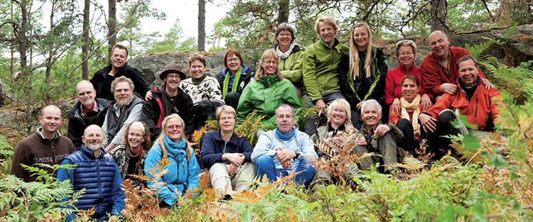 Vivere la Natura - Gruppo nel Bosco
