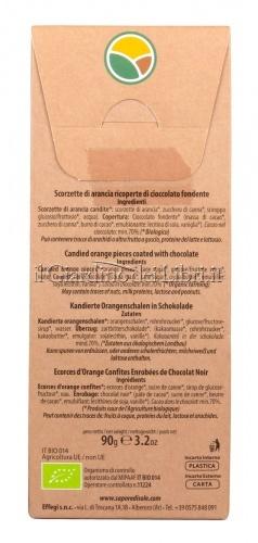 Scorzette di Arancia ricoperte di Cioccolato