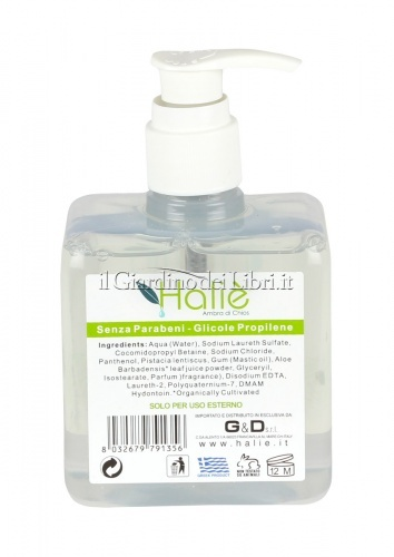 Sapone Liquido con Estratto di Pistacia Lentiscus e Aloe Vera