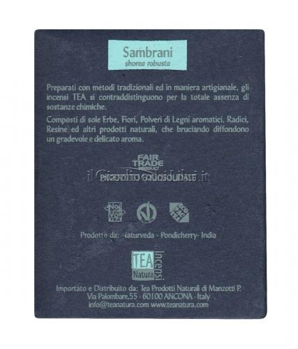 Sambrani - Incenso Naturale - 10 Piramidi
