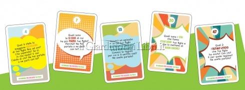 50 Domande per Crescere Tuo Figlio - Mazzo di 54 Carte