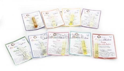 Set Chakra Blend - Kit di Riequilibrio Energetico per i 9 Chakra