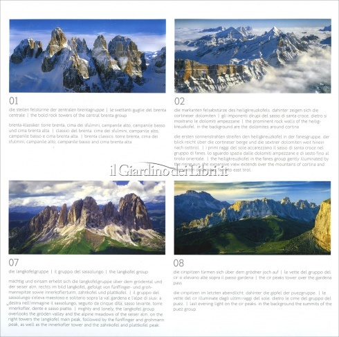 Calendario Dolomiti 2018 - Airphoto - Retro