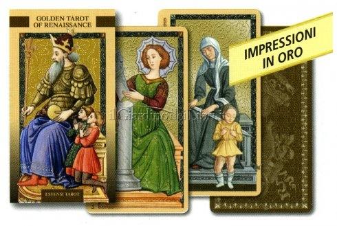 Tarocchi Dorati del Rinascimento - Golden Tarot of the Renaissance