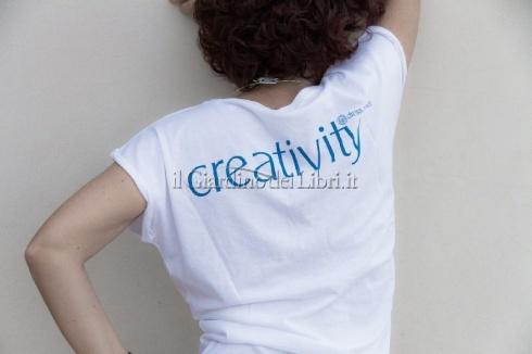 Dress Power T-Shirt - Creativity Donna