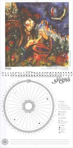 Lunario della Dea - Calendario Mestruale 2018 - interno