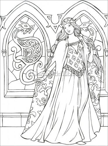 Principesse da Colorare
