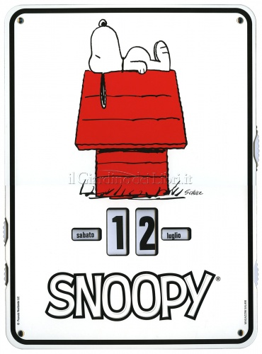 Snoopy - Calendario Perpetuo