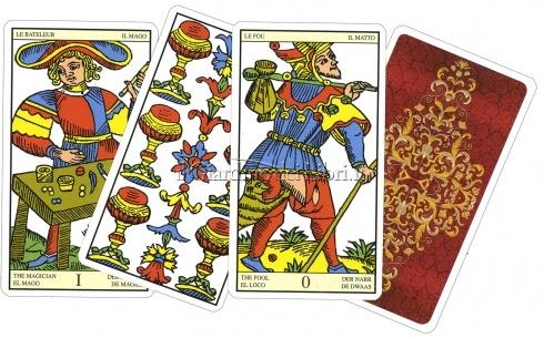 I Tarocchi Marsigliesi - Carte