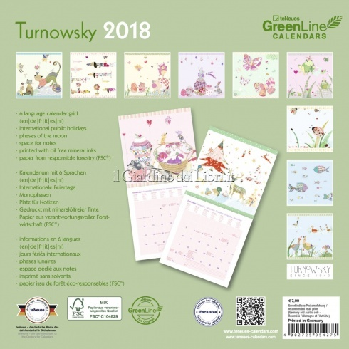 Calendario Green Diary - Turnowsky 2018