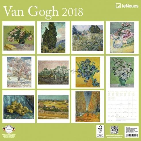 Calendario Van Gogh 2018 - Retro