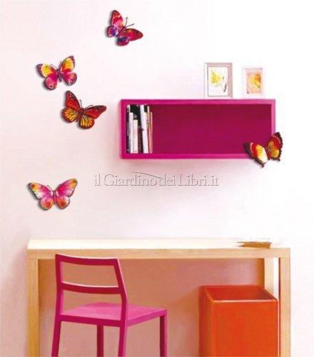 Adesivi decorativi farfalle legler for Adesivi decorativi