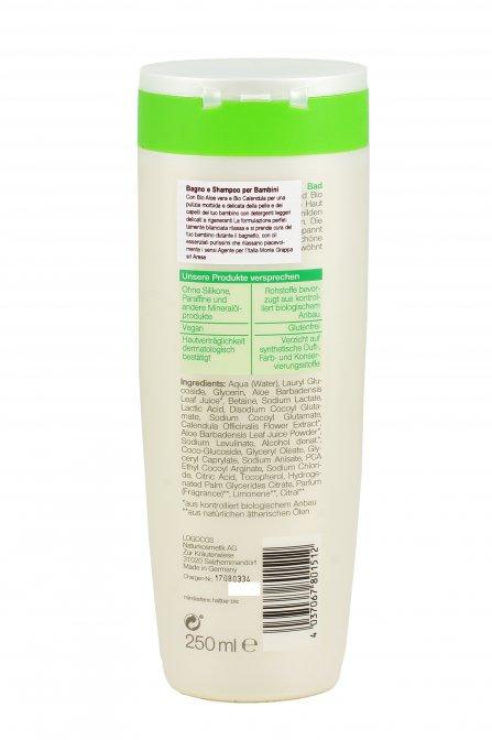 Bagno e shampoo per bambini neobio - Bagno per bambini ...