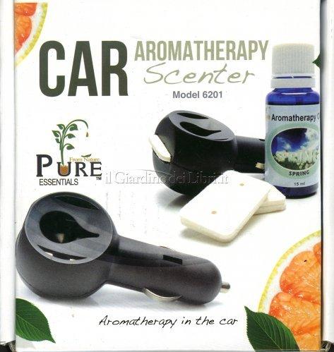 Diffusore per auto car aromatherapy scenter - Diffusore oli essenziali fatto casa ...