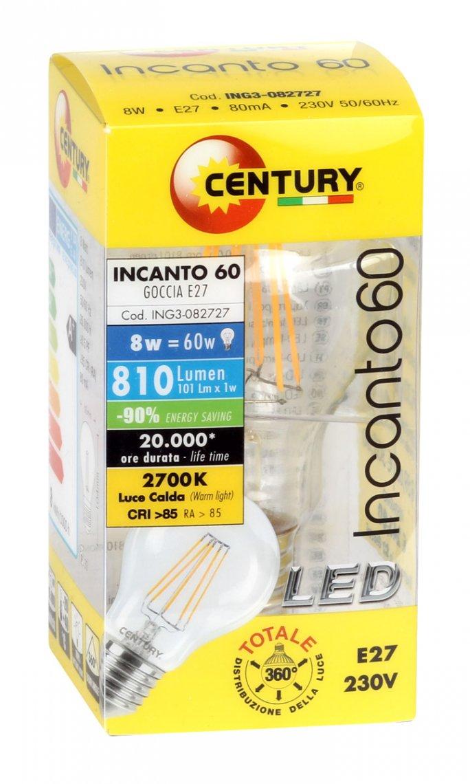 Luce Calda Classe energetica A+