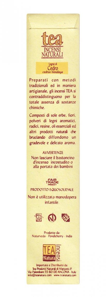 Legno Di Cedro - Incenso Naturale - 10 Bastoncin