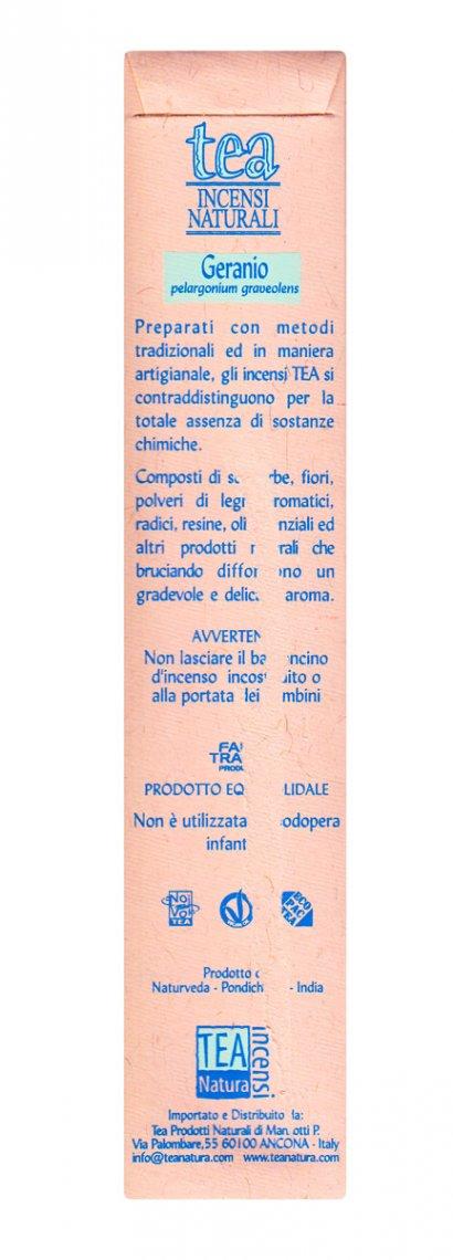 Geranio - Incenso Naturale - 10 Bastoncini