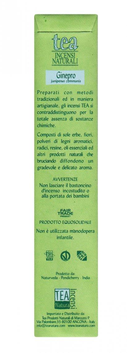Ginepro - Incenso Naturale - Bastoncini Juniperus communis