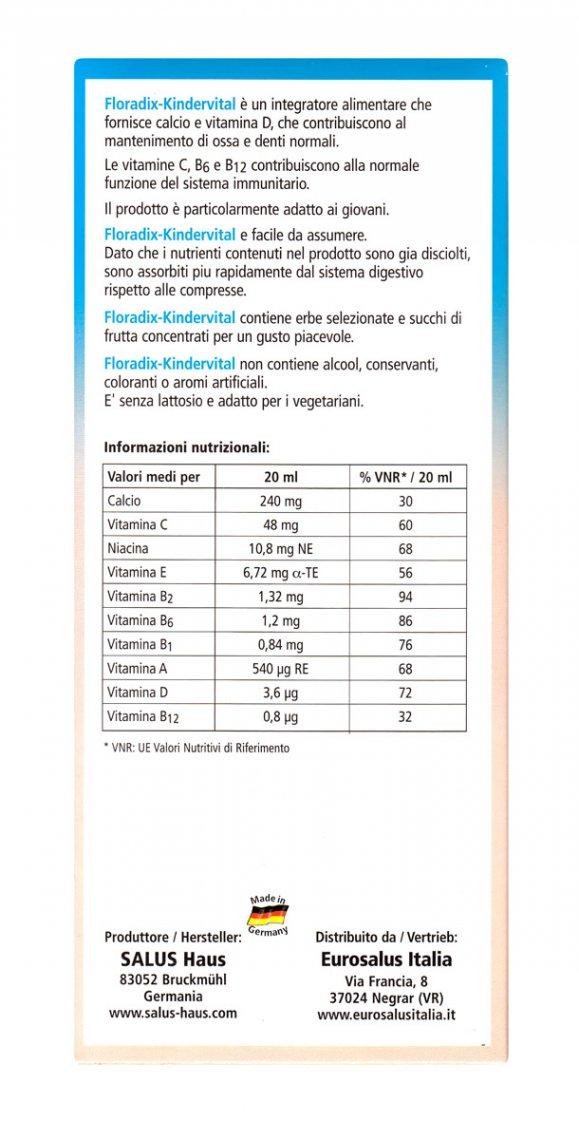Floradix Kindervital - 250Ml