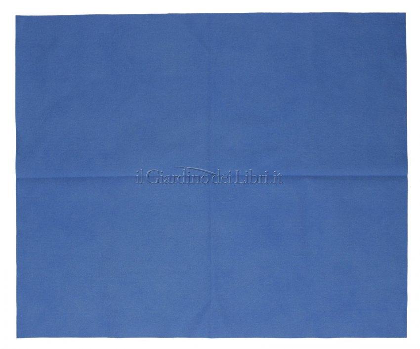 Panno Microfibra Vetri Blu - aperto