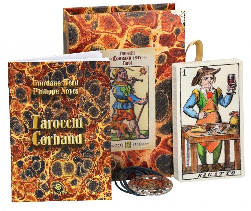 Tarocchi Corband - Box Deluxe - Contenuto