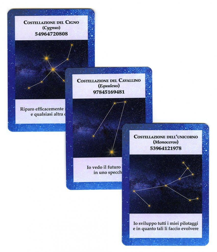 88 Carte Stellari - 3 carte del mazzo