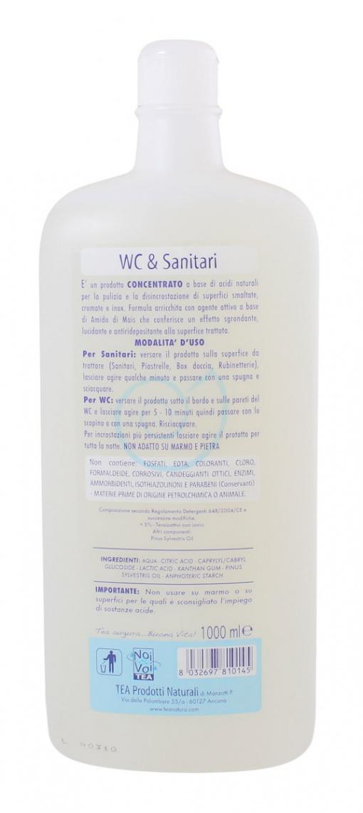 Detergente per Wc & Sanitari - 1 lt