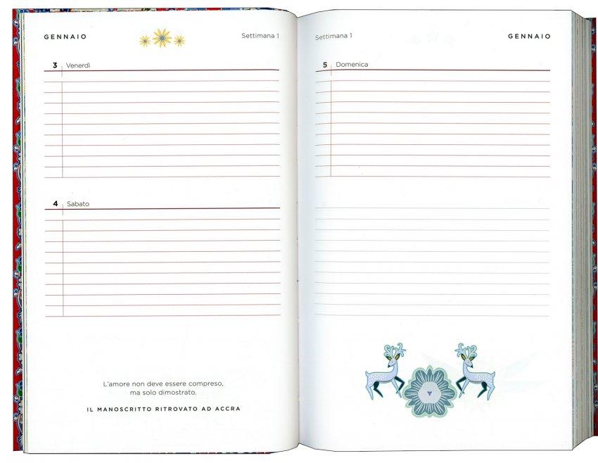 Segreti - Agenda 2020 di Paulo Coelho - pagine interne