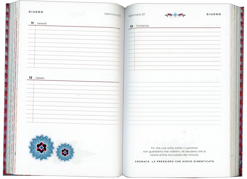 Agenda Coelho 2021 - pagine interne